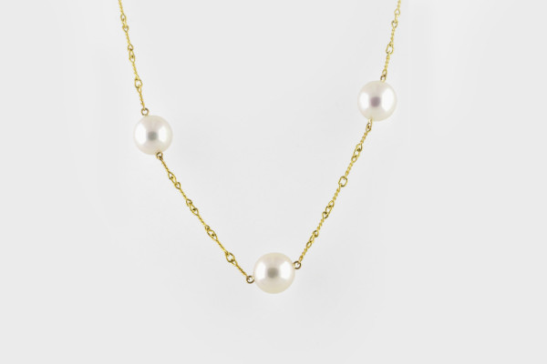 Pearl Chain Gold