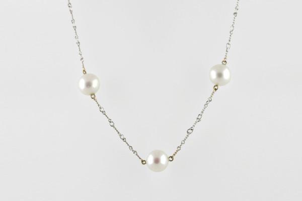 Pearl Chain Silver