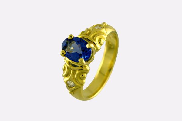 Sapphire Inlay