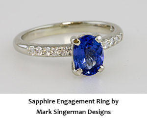Sapphire Jewelry by Mark Singerman Dedsigns